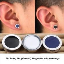 Фотография YIXI Ear Cuff Mens Magnetic Earrings For Men Without Piercing Male No pierced Magnet Earrings Women Earings Fashion Jewelry