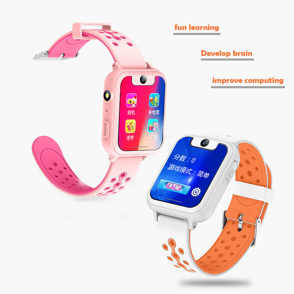 Kinder Smart Uhr GPS Kind Smart Uhr Telefon Position Kinder Watch1.44 TFT Zoll Farbe Touch Screen WIFI SOS Smart Baby uhr