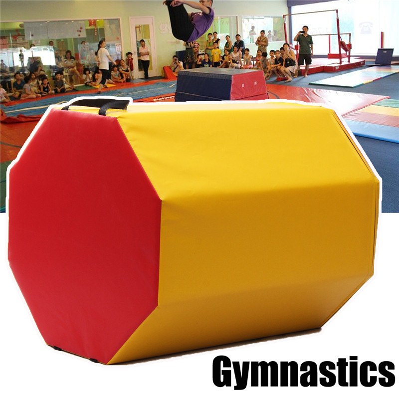 Gymnastics Mat Octagon Skill Shape Exercise Preschool Kid Children Gym Equipment gymnastics mat thick four folding panel fitness exercise 2 4mx1 2mx3cm