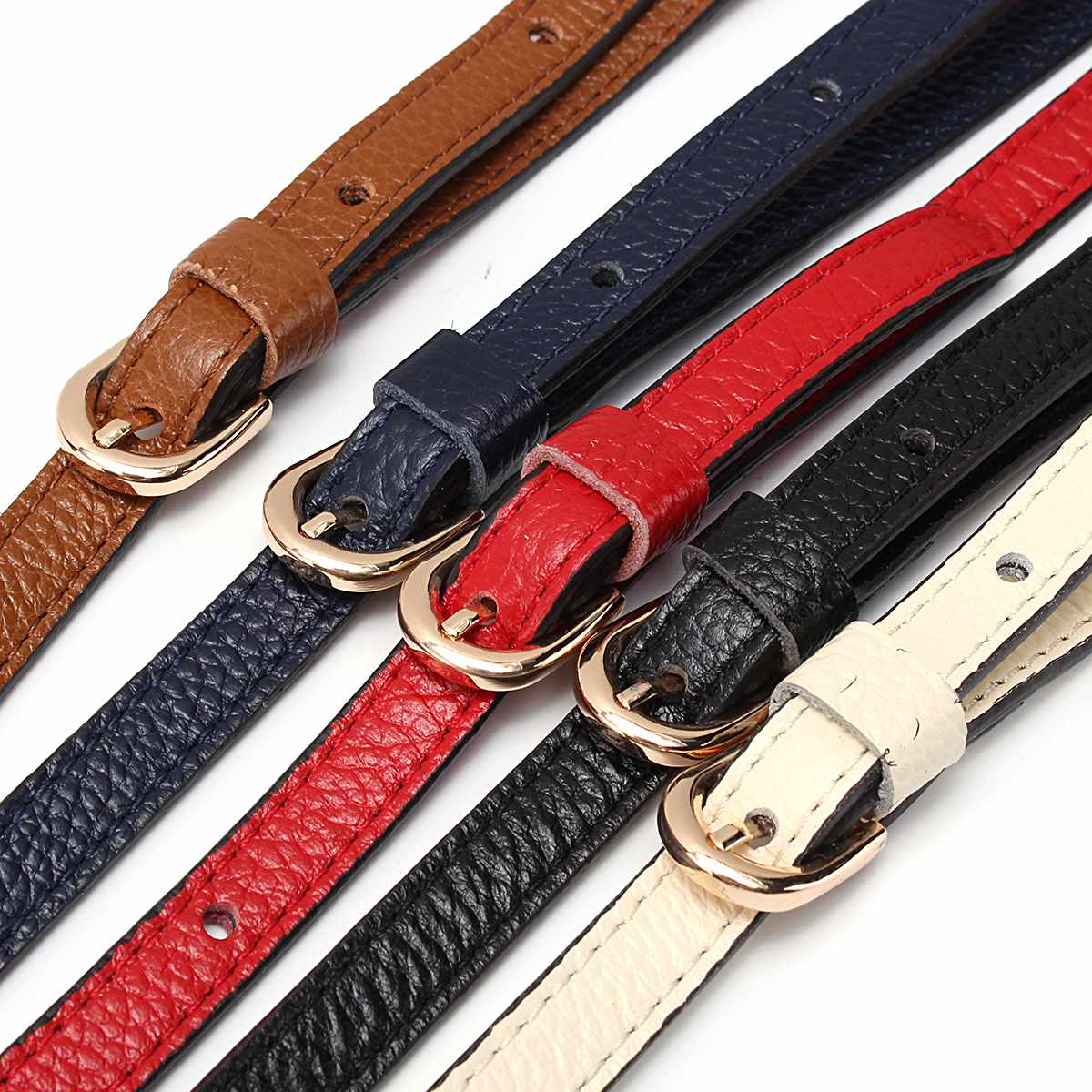 Cow Leather Bag Straps Replacement DIY Shoulder Bag Belts Adjustable Strap Belt For Long Straps Handbag Belt Accessories Parts