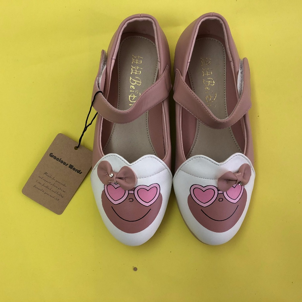 shoes for kids kids shoes Autumn/Spring Fashion Kids Shoes For Girl Leather cartoon Casual Pretty Girls Shoes ...