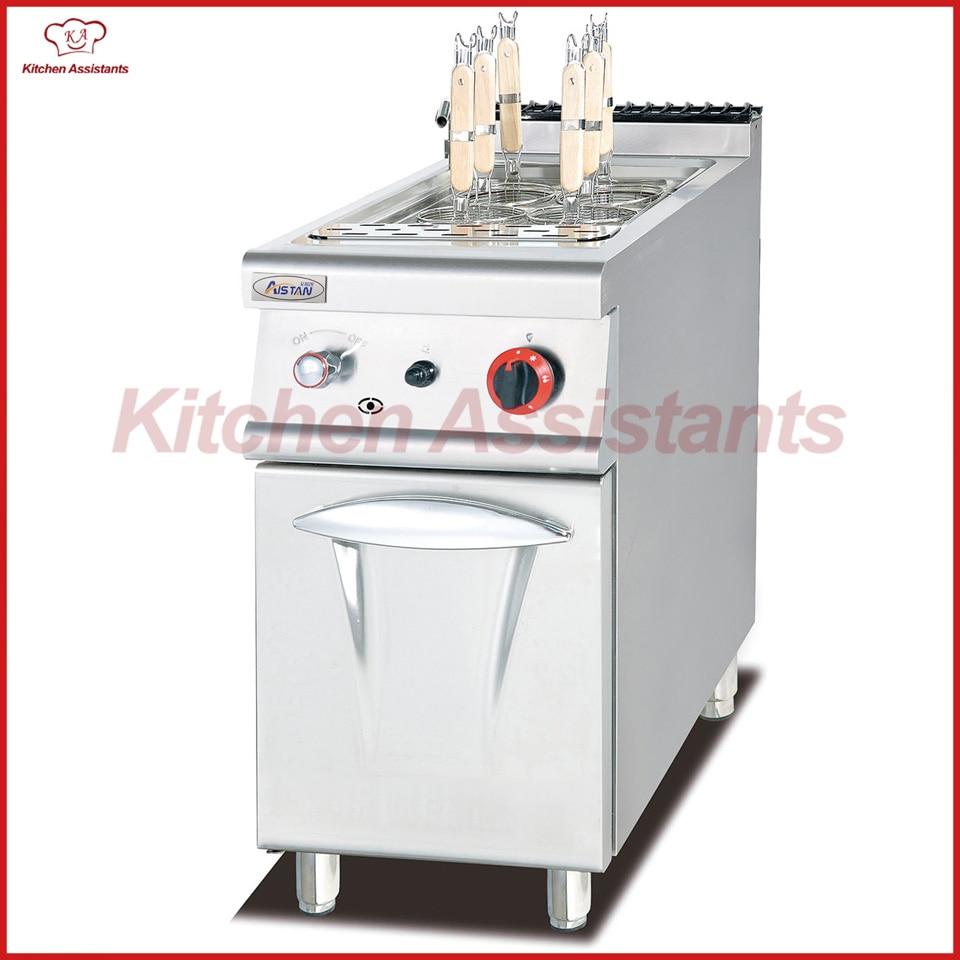 Haushaltsgeräte SchöN Eh778 Elektrische Nudelkocher Mit Schrank Für Gewerbliche Küche