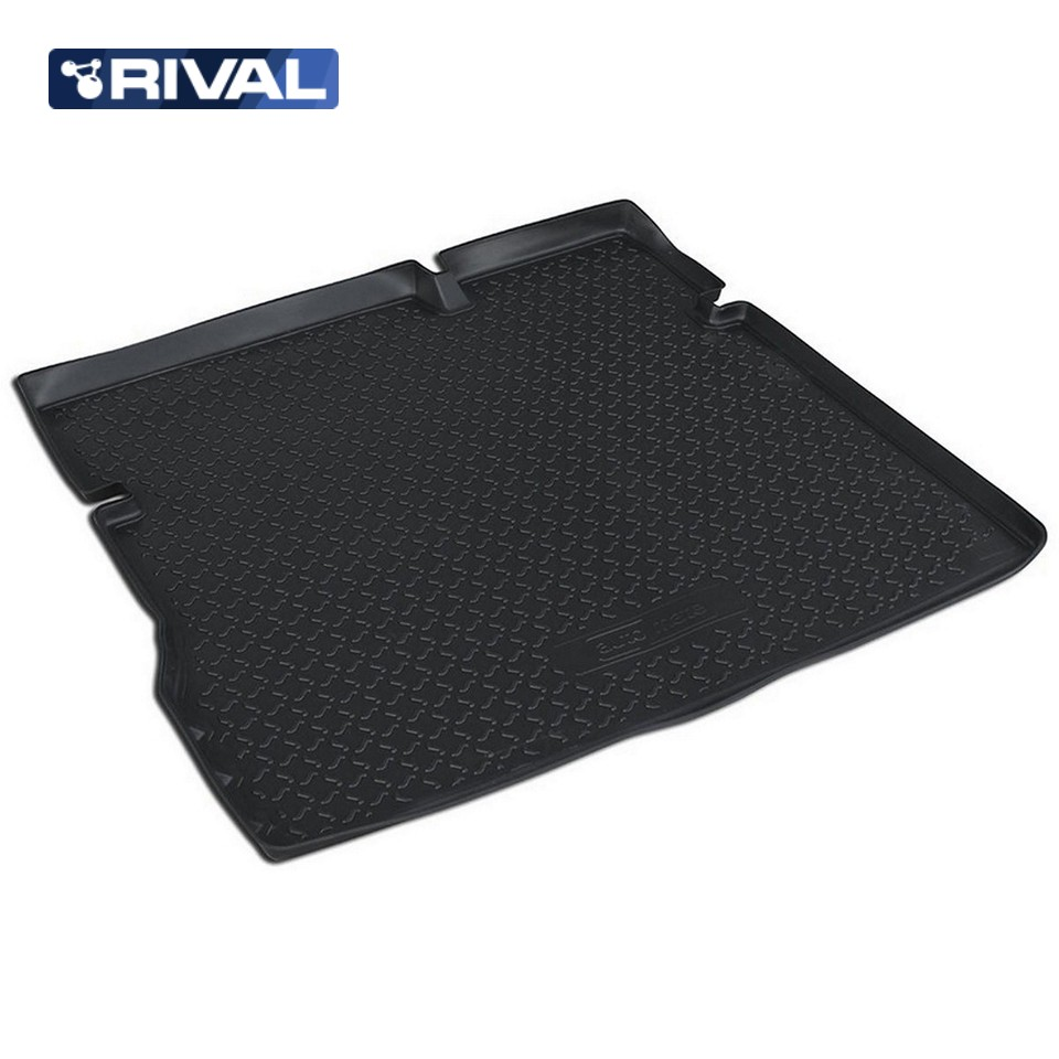 For Nissan Terrano 2WD 2014-2019 trunk mat Rival 14108003 for datsun mido 2014 2019 trunk mat rival 18701002