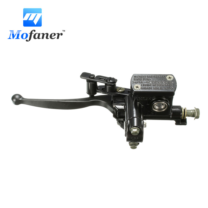 Left Brake Master Cylinder Assembly For Quad ATV 50 70CC 90CC 110CC 125CC 200CC карбюратор для мотоциклов keihin pz19 19 70cc 90cc 110cc quad