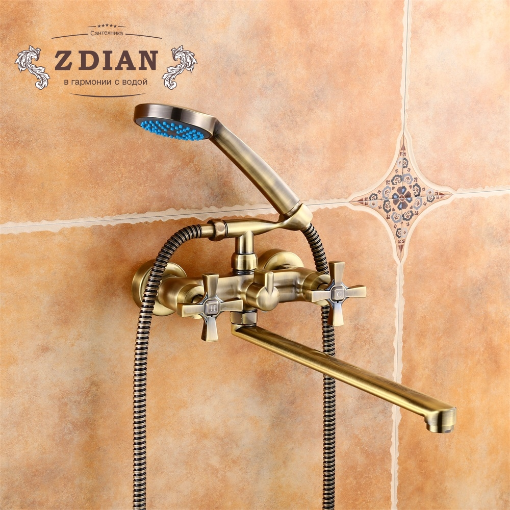 Bathtub Faucets Antique Bathroom Tub Mixer Faucet New Style Handheld Bathtub Faucet Wall Mounted Shower Faucets