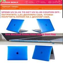 New funda Case For APPle MacBook Air Pro Retina 11 12 15 mac Book 15.4 13.3 inch with TMacbook Retina Ports Laptop Dust Plug
