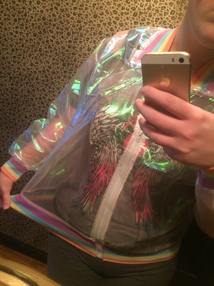 Holographic Rainbow Jacket