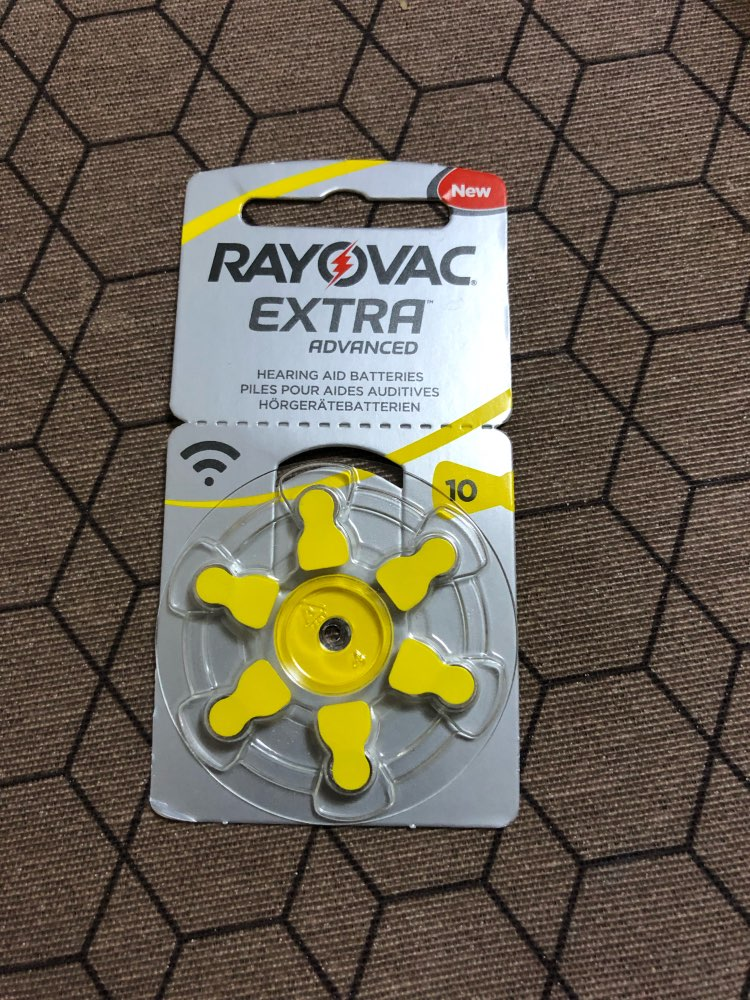 60 PCS RAYOVAC EXTRA Zinc Air Performance Hearing Aid Batteries A10 10A 10 PR70 Hearing Aid Battery A10 Free Shipping