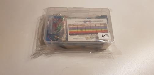 Starter Kit for arduino Resistor /LED / Capacitor / Jumper Wires / Breadboard resistor Kit with Retail Box