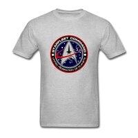 Star Trek Logo Men T Shirt New Designing T Shirt Men S Short Sleeve Cotton Custom
