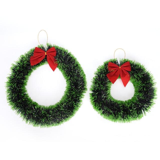 guirnalda navidad rbol decoracin madder bowknot guirnalda para navidad supermercado hotel ventanas decoracin celebracin - Guirnalda De Navidad