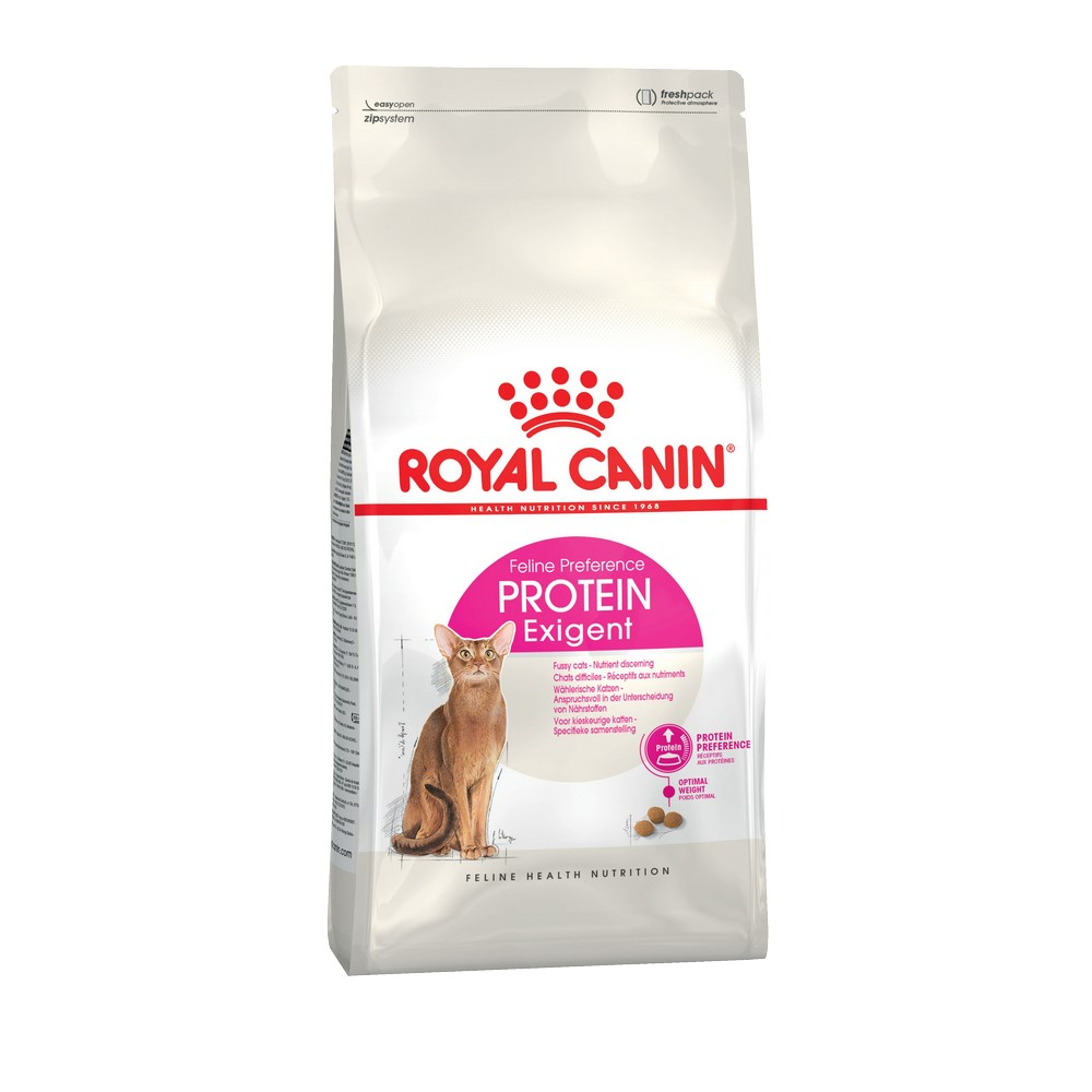 Cat food Royal Canin Exigent Protein Preference, 2 kg cat food royal canin exigent savour sensation 2 kg