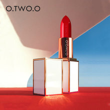 O.TWO.O Moisturizing Red Batom Matte Lipstick Women Luxury Rose Gold Color Lip Tint Makeup Waterproof Long Lasting Pintalabios(China)