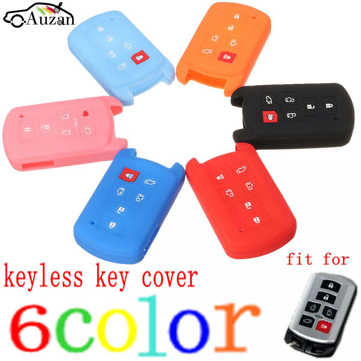 HPiano Ford Car Key Cover Hand Sew Line Cover Protector Case Skin Jacket fit for FORD 3 Button Smart Remote Key Fob Heavy Duty PU Leather Protective Key Fob Cover for Ford 3 Button