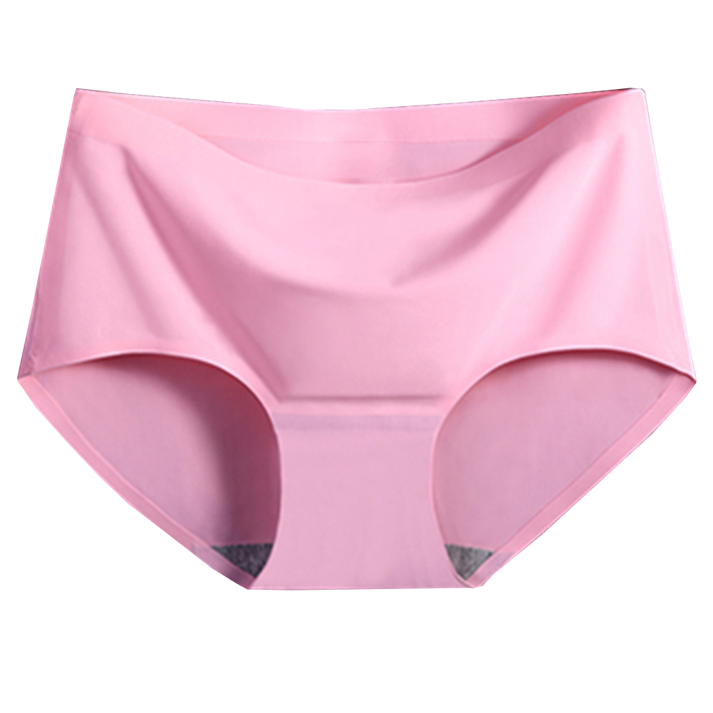 Sexy Summer Style Fashion Womens Panties Ice Silk Cool Refreshing Seamless Underwear Triangle Big Yards Female Briefs Hot Sale