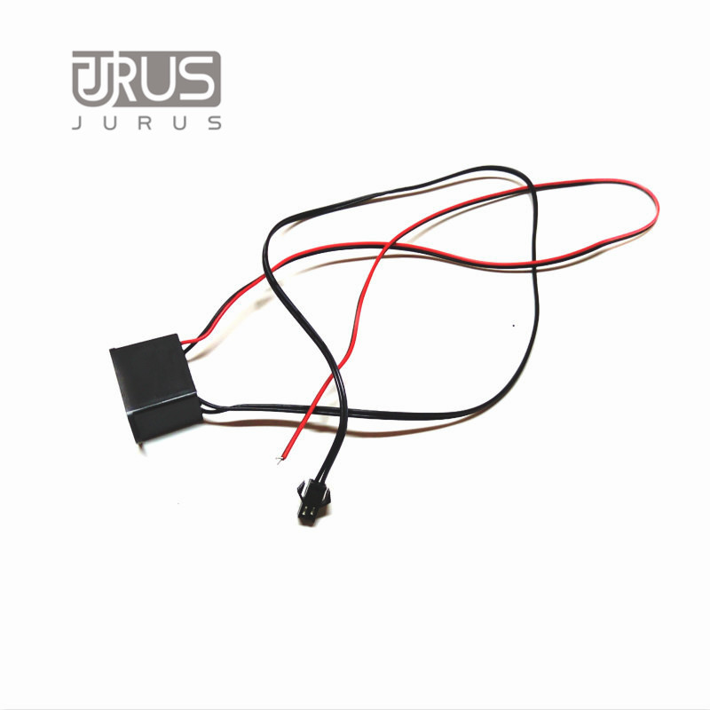 JURUS 2Meters Atmosphere Lamps Car Interior Ambient Light Cold Light Line Decorative Dashboard Console Door Light Car styling in Decorative Lamp from Automobiles Motorcycles