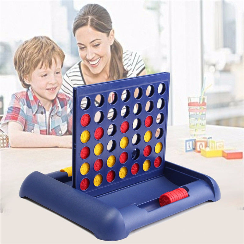 Hot Connect Yellow/Red Four In A Row 4 In A Line Fun Family Parties Classic Bingo Board Gamesfor Christmas Gifts for Children