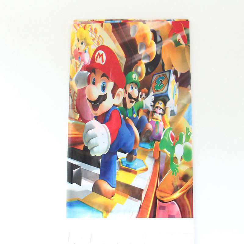 US $0 64 5pcs/lot 60*45cm Super Mario Balloons 18inch Blue Red Star