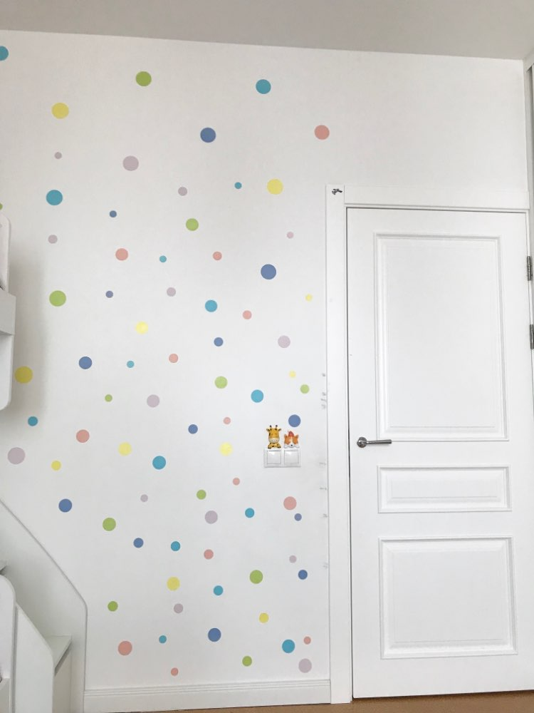 Colorful Polka Dot Wall Stickers Just In Modern