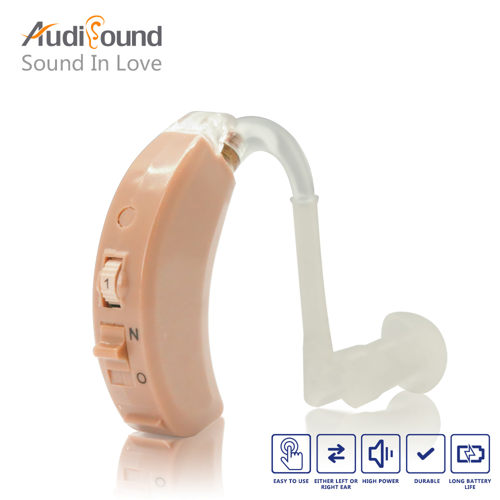 high quality mini behind the ear hearing aid hearing voice amplifier ear sound amplifier hearing aids vohom 221 newest high quality bte digital hearing aid for hearing loss mini full circuitry hearing aids voice amplifier