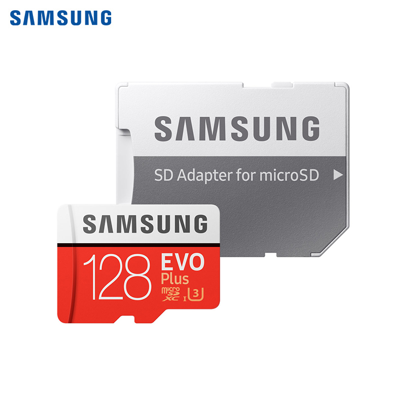 Memory Card Samsung MicroSDHC EVO + V2 128Gb + SD Adapter