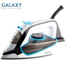 Утюг Galaxy GL 6107 (Мощность 2800 Вт, резервуар для воды 400 мл, вертикальное отпаривание, паровой удар, защита от накипи, самоочистка, автовыключение, керамическое покрытие подошвы)