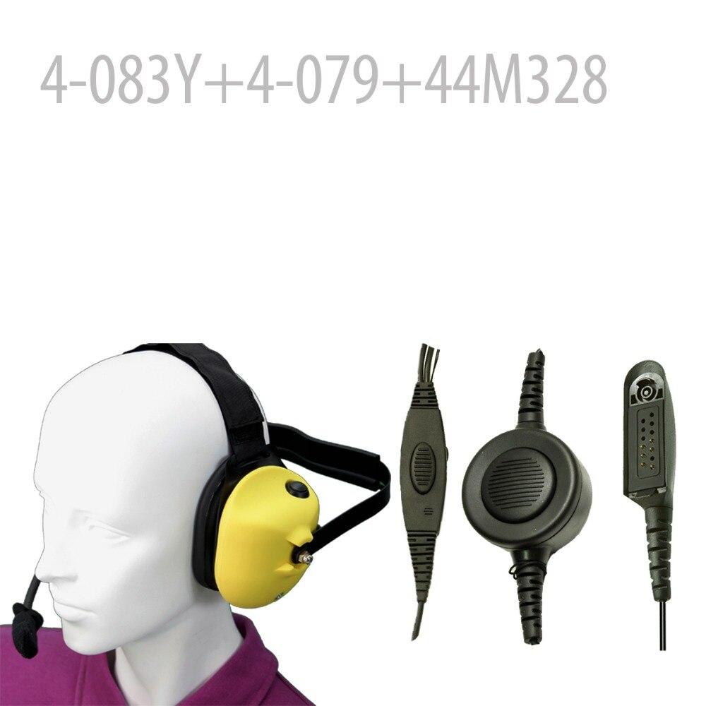 Heavy duty Noise reduction Headset-Y+Mini Din Plug 44-M328 for GP320 GP328 GP329 GP338 GP339 GP340 GP360 GP380 GP640 GP680Heavy duty Noise reduction Headset-Y+Mini Din Plug 44-M328 for GP320 GP328 GP329 GP338 GP339 GP340 GP360 GP380 GP640 GP680