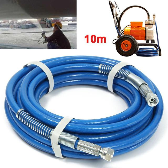 US $14 78 52% OFF|Aliexpress com : Buy 10m 5000psi High Pressure Pipe  Airless Paint Spray Hose For Spary Gun Sprayer Water 50' x 1/4
