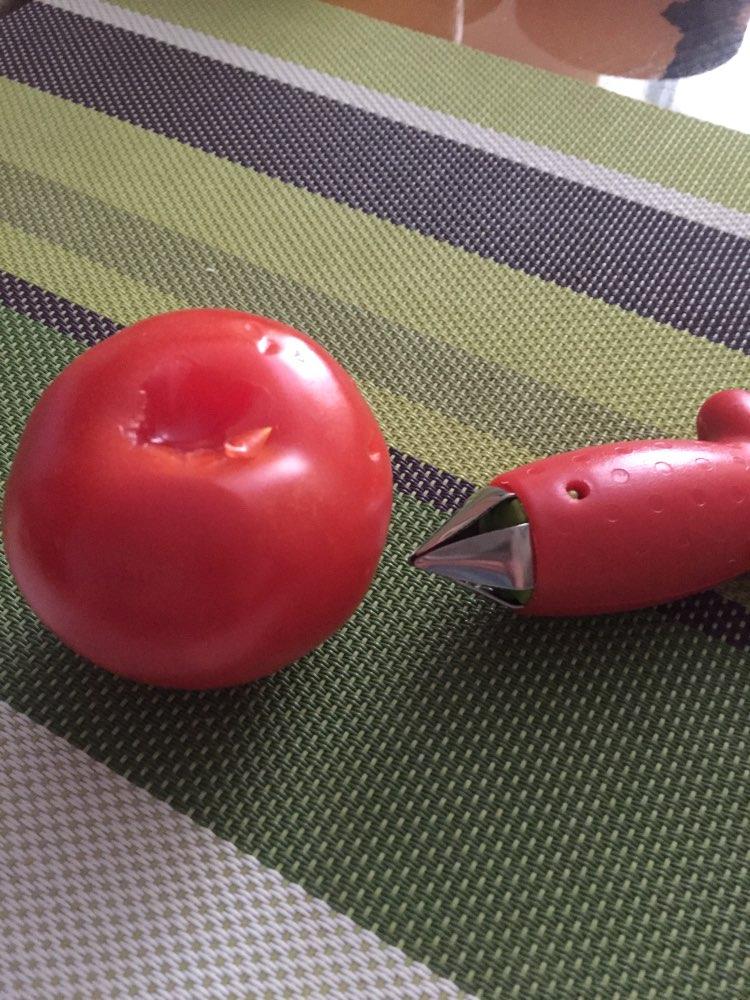 Strawberry Huller Strawberry Top Leaf Remover Fruit Tomato Stalks Spillter Fruit Stem Remover Fruit Tools Kitchen Gadgets