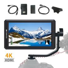Feelworld F6 5.7inch Full HD 1920x1080 IPS DSLR HDMI Field Video Monitor with Tilt Arm Power out for Handheld Gimbal Stabilizer feelworld f5 5inch dslr on camera field monitor small full hd 1920x1080 ips video peaking focus assist with 4k hdmi and tilt arm