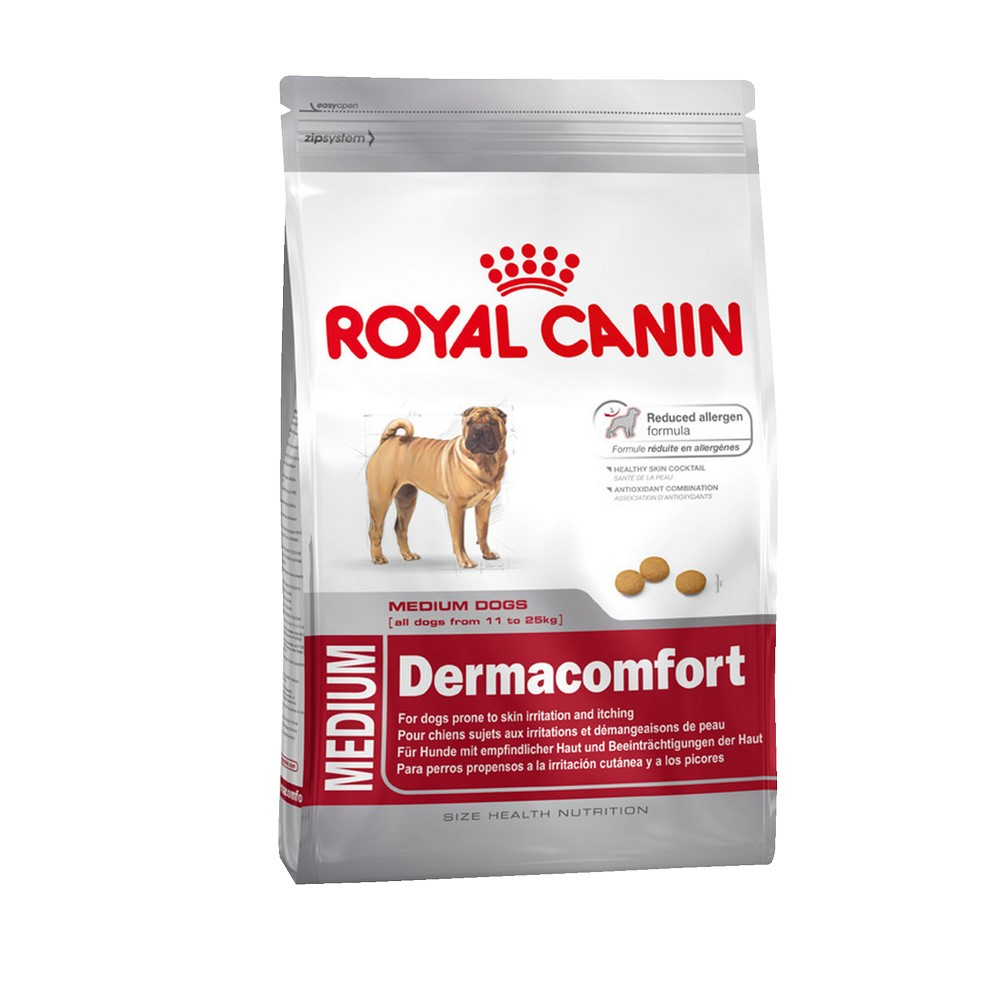 Dog Food Royal Canin Medium Dermacomfort, 3 kg