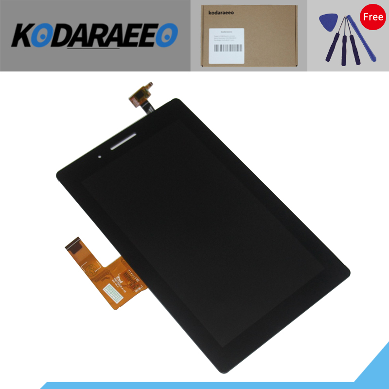 kodaraeeo 7 LCD Display With Touch Screen For Lenovo Tab 3 7.0 710 essential tab3 TB3-710F TB3-710L TB3-710I Digitizer Assembly new 7 inch for lenovo tab3 tb3 710f lcd display and touch screen digitizer assembly with free shipping