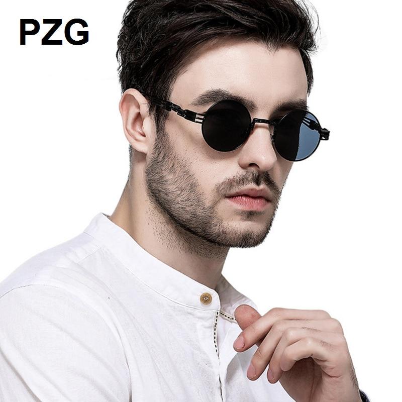 PZG mewah merek Punk Kacamata 2018 baru pria womens kacamata Paduan - Aksesori pakaian - Foto 1