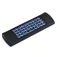 Universal Backlit Wireless Keyboard 2 4GHZ Mini Backlight Air Mouse IR Learning Remote Controller For Android