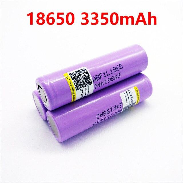 liitokala lii-F1L Original 3.6V 18650 INR18650 F1L 3350mAh 4.2V Cut Off Rechargeable Battery for