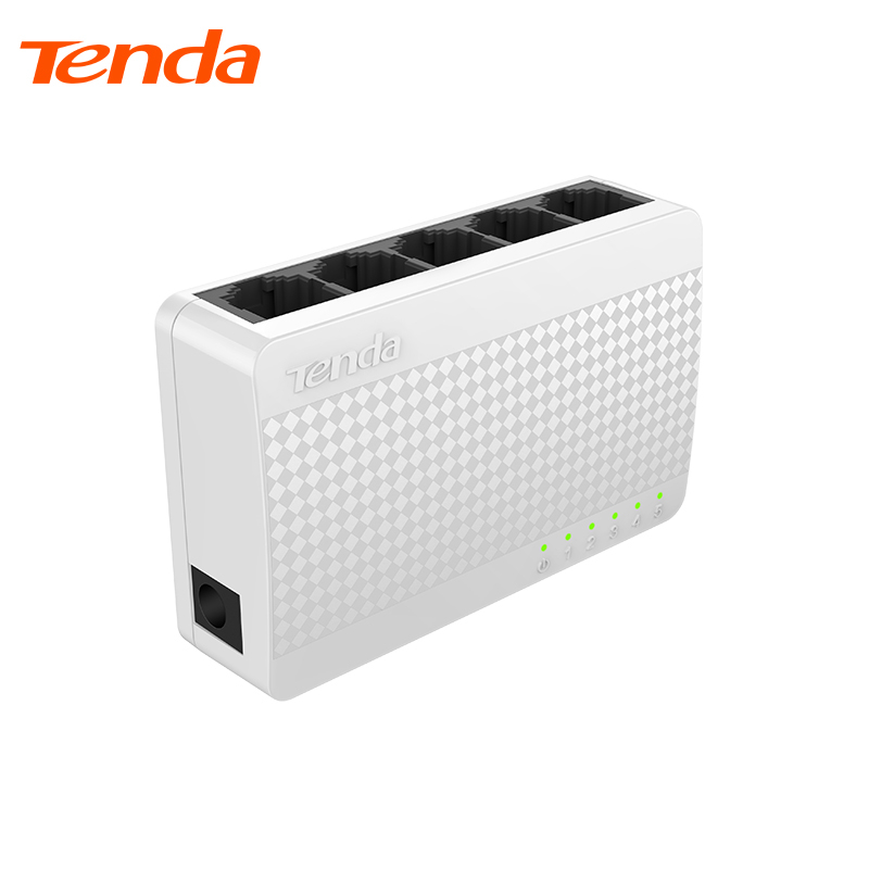 Networking Tenda S105 white Network Switches цена и фото