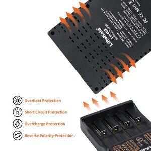 Image 5 - LiitoKala Lii 402 18650 Battery Charger For 26650 16340 RCR123 14500  LiFePO4 1.2V Ni MH Ni Cd Rechareable Battery lii402