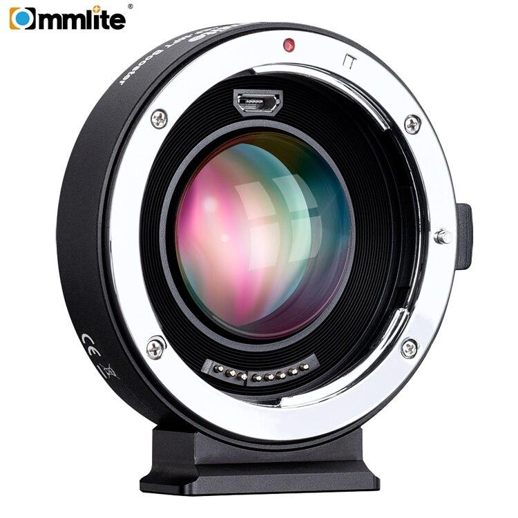 Commlite AEF MFT Booster 0 71x Focal Reducer Booster AF Lens Mount Adapter for Canon EF