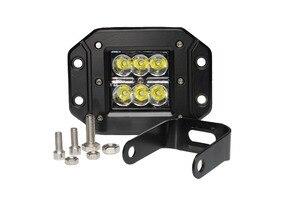 Image 5 - 18w DRL luz de circulación diurna LED luz de trabajo 10 30V accesorios de coche SUV 4WD UAZ motocicleta apagado paso de carretera b6 golf LADA NIVA