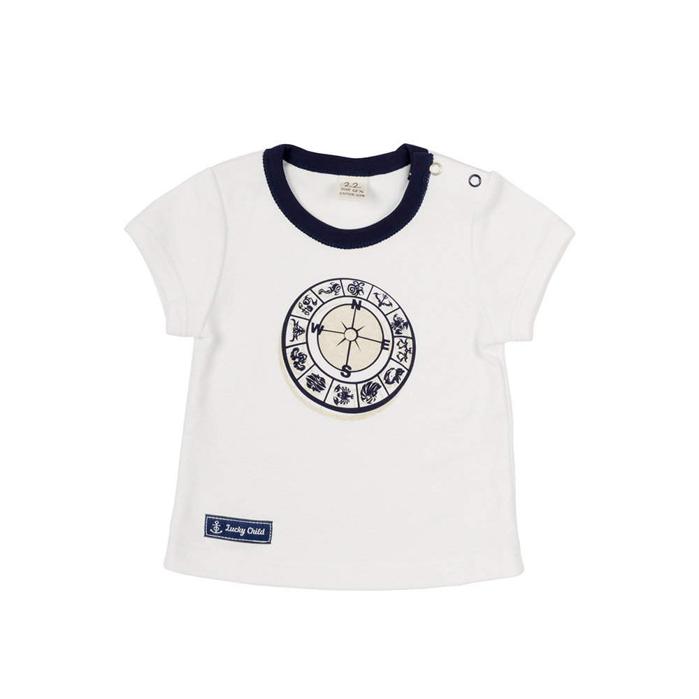 T Shirts Lucky Child for girls 28-36D (3M-18M) Top Baby T Shirt Kids Tops Children clothes kids outfits letter pattern t shirts in white