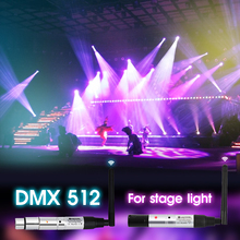 цена на 2.4G dmx 512 wireless transmitter & receiver DJ Wireless system Receiver 2.4G for LED Stage Lighting Effect Light Control