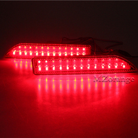 For Honda CRV 2007 2008 2009 Tail Rear Bumper Light LED ReflectorStop Brake Fog Lamp 2