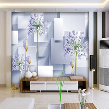 3D stereo TV background high-grade wall cloth manufacturers wholesale wallpaper photo