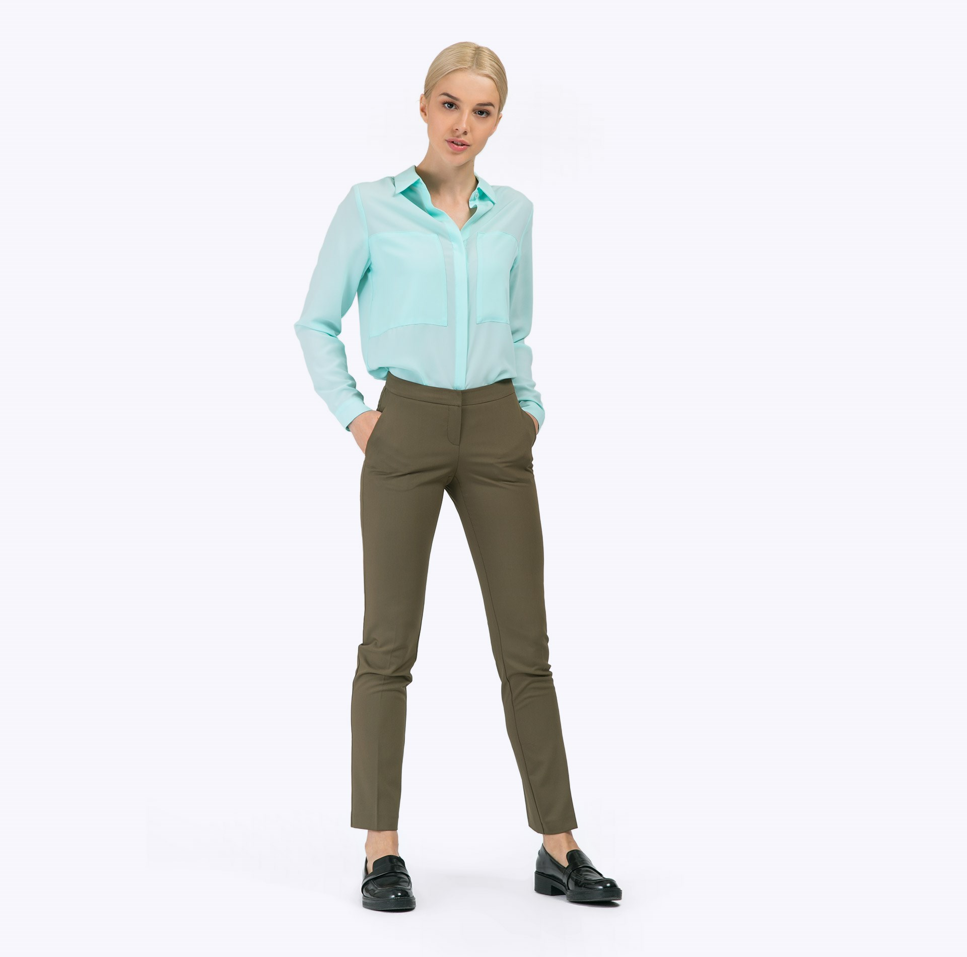 Item number D051/rise Pants item number b2275 galsana blouse straight cut