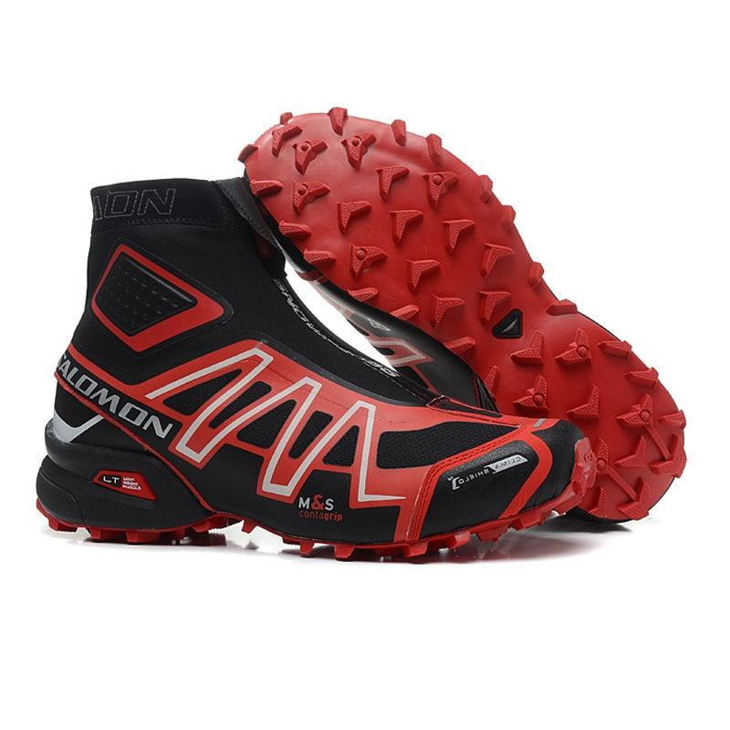 Salomon Snowcross Sneakers Chaud Sport Chaussures Hommes Chaussures de Course eur 40-46 High Cut Style