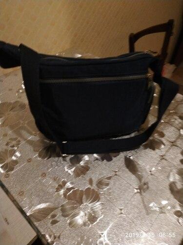 Waterproof Nylon Women Messenger Bags Casual Clutch Carteira Vintage Hobos Ladies Handbag Female Crossbody Bags Shoulder Bags