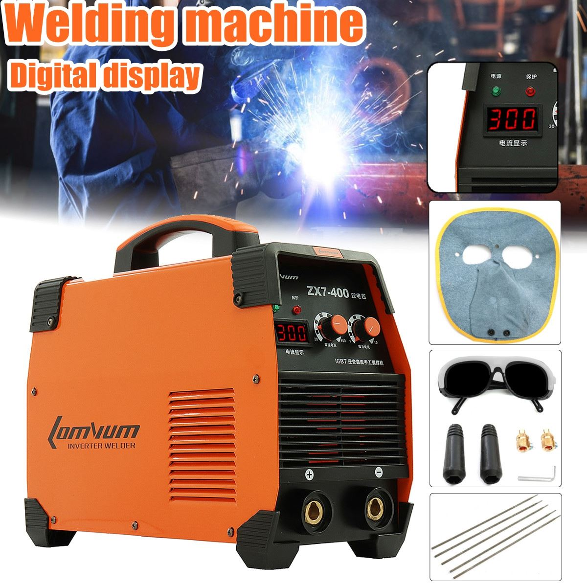 ZX7-315 Welding Inverter Machine Tool MMA/ARC Portable Welder 220V/380V DC IGBT Welding Machine