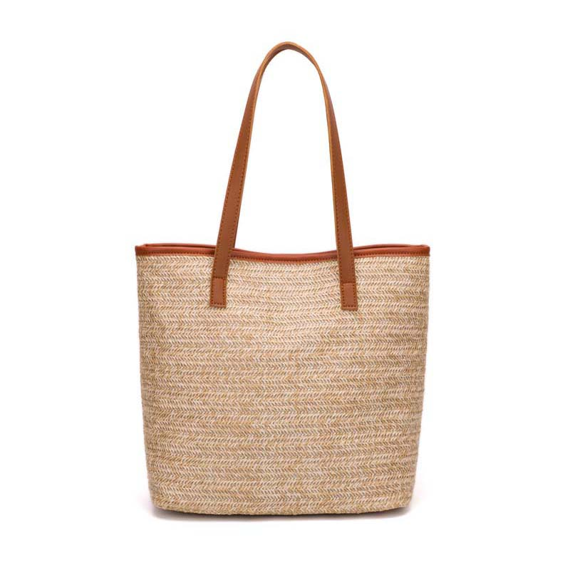 Luggage & Bags New Summer Women Fashion Handbag Ins Popular Female Holiday Straw Bags Lady Knit Shoulder Bag Travel Shopping Tote Bolsa Ss3230 Top Watermelons