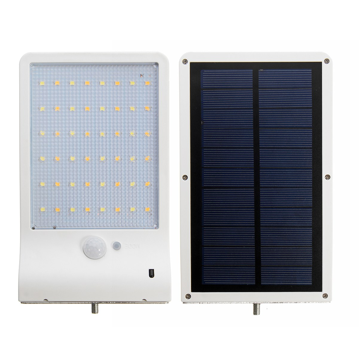 Solar Power 48 Led Solar Light PIR Motion Sensor Wall Garden Light LED Street Lamp Remote IP65 With Remote Control