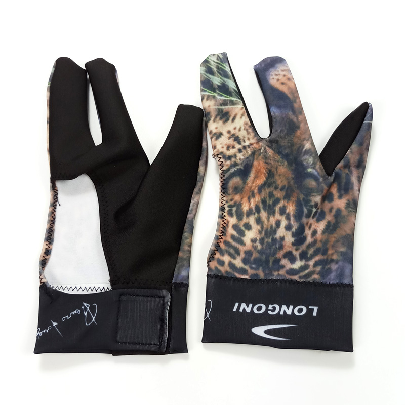 US $11 39 5% OFF|xmlivet Pool Billiard Cue Glove for Left Hand and right  hand Three Finger Fitness gloves can customize logo High quality fabric-in